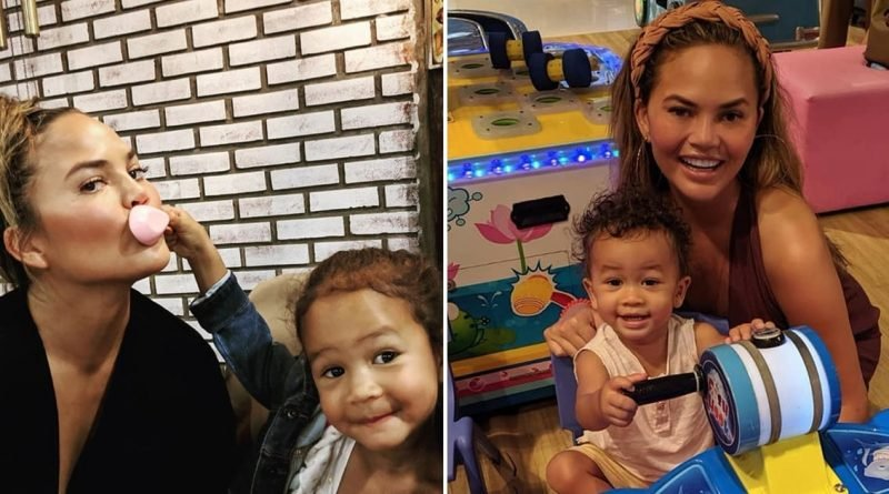 Chrissy Teigen and John Legend Have an Adorable Family Vacation in Thailand