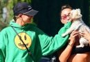 Hailey Bieber Hits the Gym With a Cute Puppy!