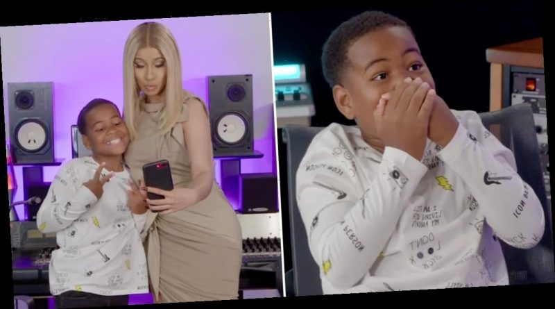 Aw! This 10-Year-Old Aspiring Rapper Met Cardi B On Ellen