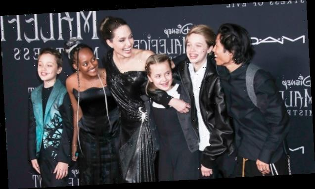 Angelina Jolie Why Her Younger Kids Skipped The Tokyo