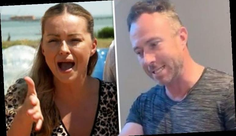 James Jordan: Strictly star calls out 'angry' pregnant wife Ola after embarrassing clip