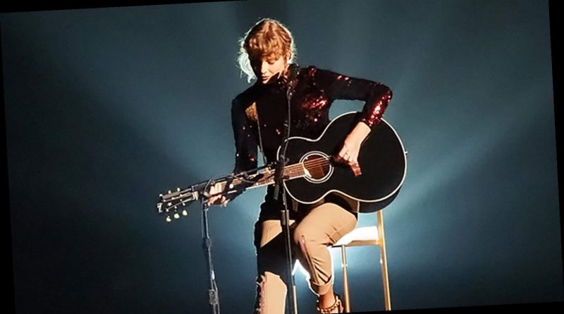 Taylor Swift Performs Betty for 1st Time at 2020 ACM Awards