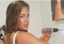 Love Island's Malin Andersson showcases killer curves in lingerie for home DIY
