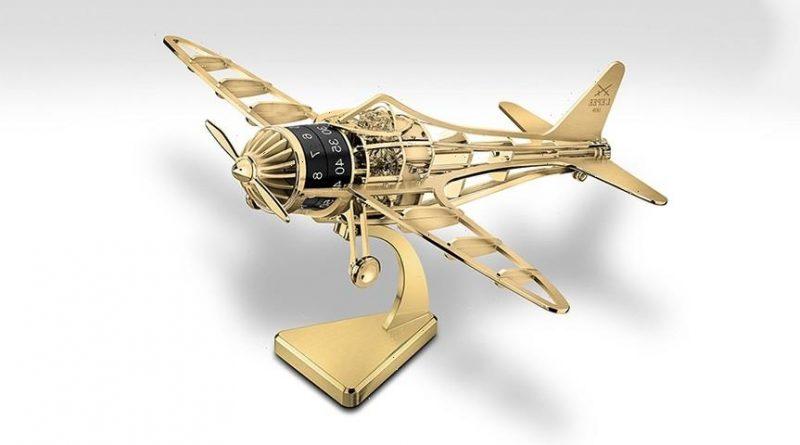 L'Epée Takes Flight With $30,000 USD Desk Clock