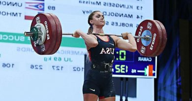 Why Olympic weightlifter Mattie Rogers documented her IUD journey while training