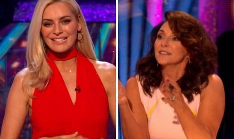 Shirley Ballas takes swipe at Tess Daly over tough scores on Strictly Come Dancing